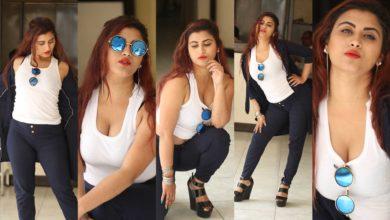 Photo of Hot photos of Gunnjan Aras – bold Indian model and actress