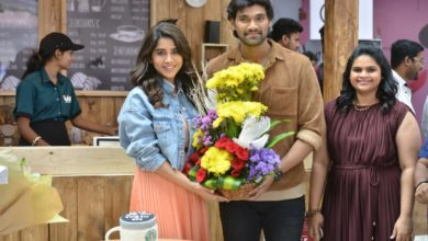 Photo of Actress @NabhaNatesh birthday celebrations
