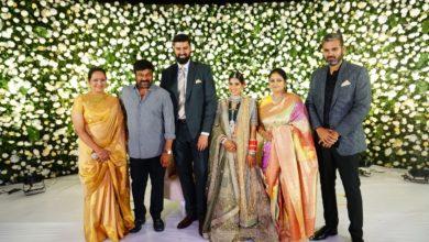 Photo of Jayasudha kapoor's elder son wedding reception images