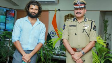 Photo of VijayDevarkonda interacted with field-level police officers