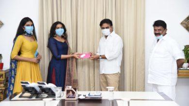 Photo of తెలంగాణ ముఖ్యమంత్రి సహాయనిధికి రాజశేఖర్ కుమార్తెల విరాళం రూ.2 లక్షలు