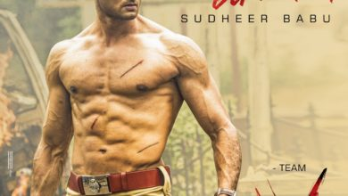 Photo of Sudheer Babu birthday poster from 'V'
