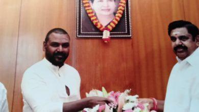 Photo of Happy birthday to our honourable cheif minister eddapadi k palaniswami sir.