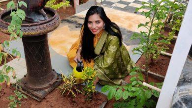 Photo of Narudi Brathuku Natana Heroine Madhuri Green Challenge
