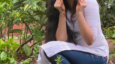 Photo of The cutest #Uppena Actress @IamKrithiShetty accepted the #GreenindiaChallenge