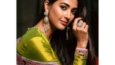 Photo of Actress Pooja Hegde Diwali Celebrations