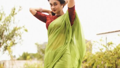 Photo of AishwaryaArjun looks effortlessly beautiful in this festival attire