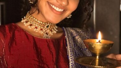 Photo of Anupama Parameswaran Diwali Celebration