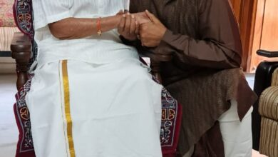 Photo of Photos: Chiranjeevi Meets Viswanath