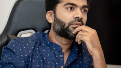 Photo of Latest Clicks of Actor Simbu Looks Classy in the Blue Outfit