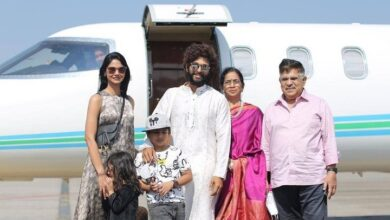 Photo of AlluFamily off to Udaipur to Attend Niharikakonidela Wedding