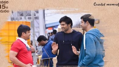 Photo of Here are some candid moments from AlluduAdhurs sets