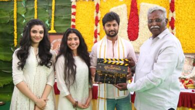 Photo of Natural Star Nani ShyamSinghaRoy Launched