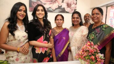 Photo of జబర్దస్త్ యాంకర్ నటి రష్మి గౌతమ్ ప్రారంభించిన థ్రెడ్ & ఫ్యాబ్రిక్స్ స్టూడియో