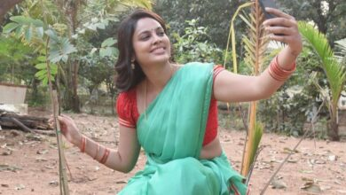 Photo of Actress Nanditaswetha Accepted Greenindia Challenge