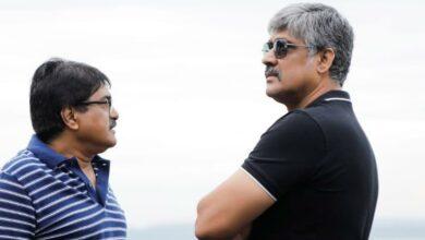 Photo of Tasteful producer SravanthiRaviKishore all confident & thrilled about REDTheFilm with Rampothineni & KishoreThirumala Behind the Scenes