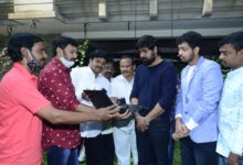 "Photo of ""Robbery"" Movie Trailer Launch by Actor Srikanth"