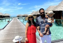 Photo of Rocking Star Yash's family holiday at Maldives