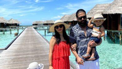 Photo of Rocking Star Yash's family holiday at Maldives