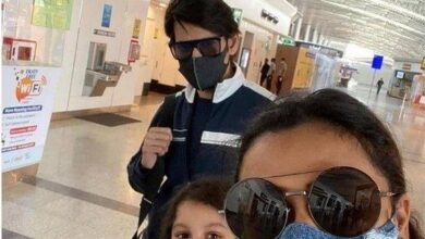 Photo of Superstar Mahesh with his family went to Dubai
