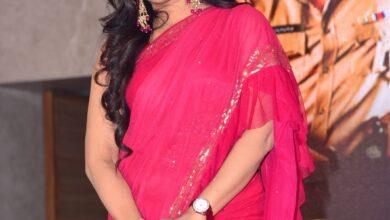 Photo of Anchor UdayaBhanu At Jai Sena Movie Pre-Release Event