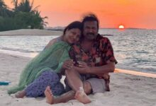 Photo of Lakshmimanchu shared this beautifull picture of themohanbabu garu and her mom from their vacation.