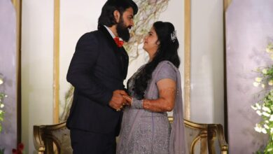 Photo of హైదరాబాద్లో జరిగిన నటుడు ఆశిష్ గాంధీ, నిఖితల వివాహం