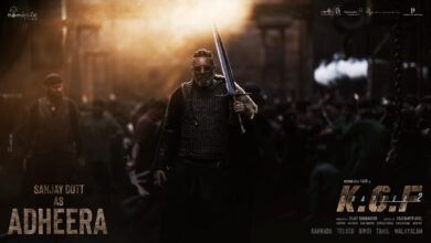Photo of Poster – Sanjay Dutt as Adheera from KGF Chapter 2